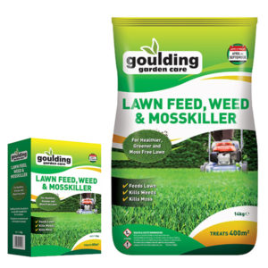 GOULDING Lawn Feed, Weed & Mosskiller